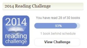 Reading challenge stats