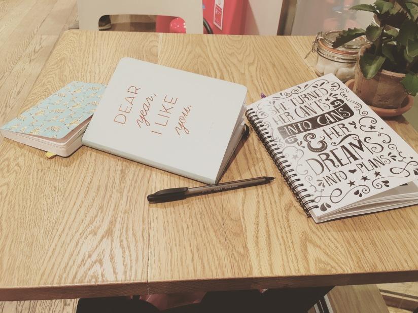 My blogging accessories