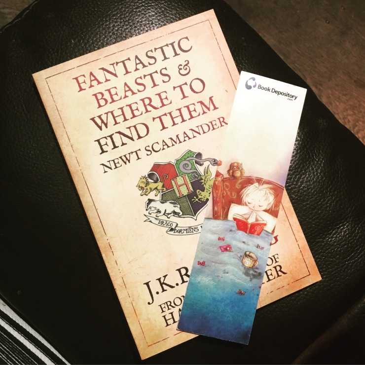 Fantastic Beasts and Where to Find Them, Book 7, 2016 Reading Challenge