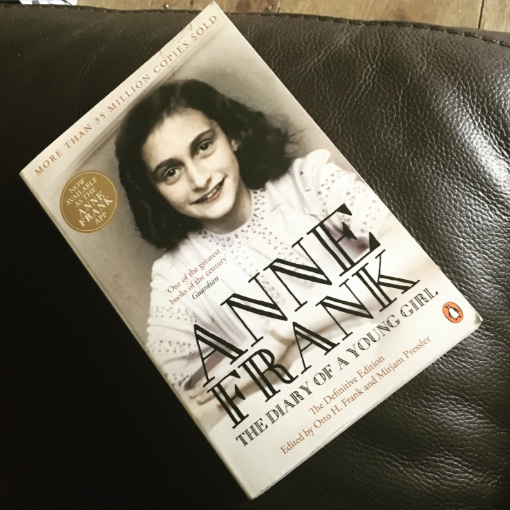 The Diary of Anne Frank, Book 17, 2016 Reading Challenge