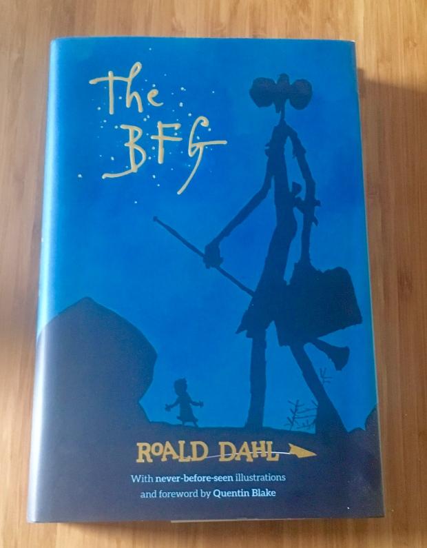 2017 Reading Challenge, Book 3, The BFG
