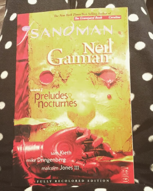 2016 Reading Challenge Book 26 - The Sandman