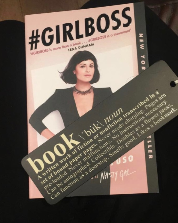 2017 Reading Challenge, Book 7, #GIRLBOSS