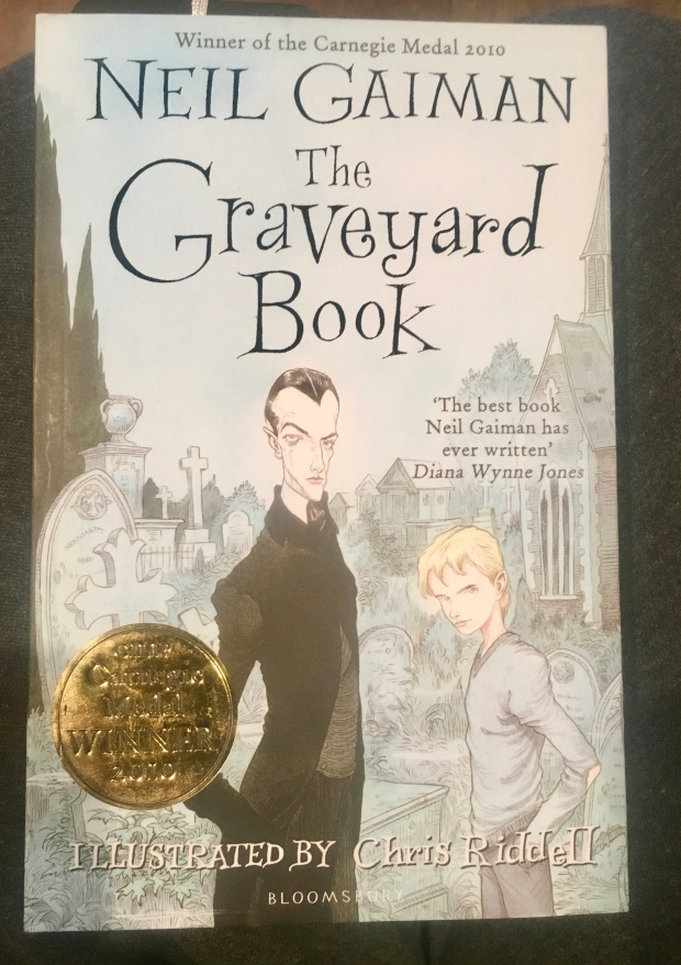 2017 Reading Challenge, Book 11, The Graveyard Book