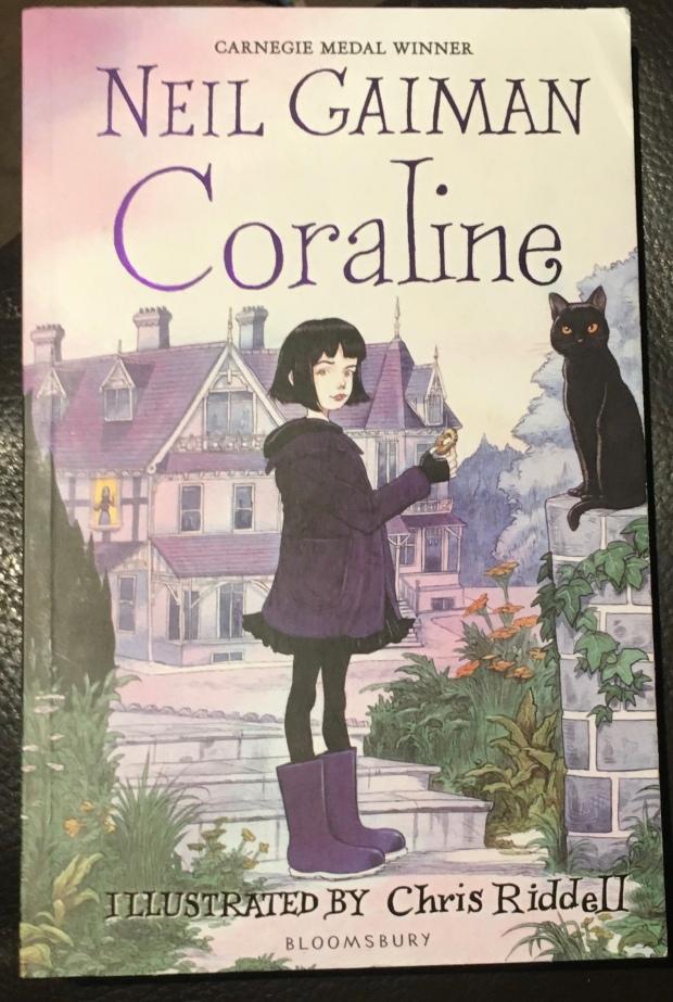 2017 Reading Challenge, Book 16, Coraline