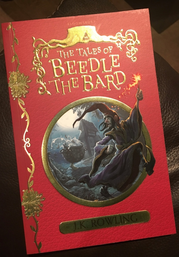 2017 Reading Challenge, Book 17, The Tales of Beedle The Bard