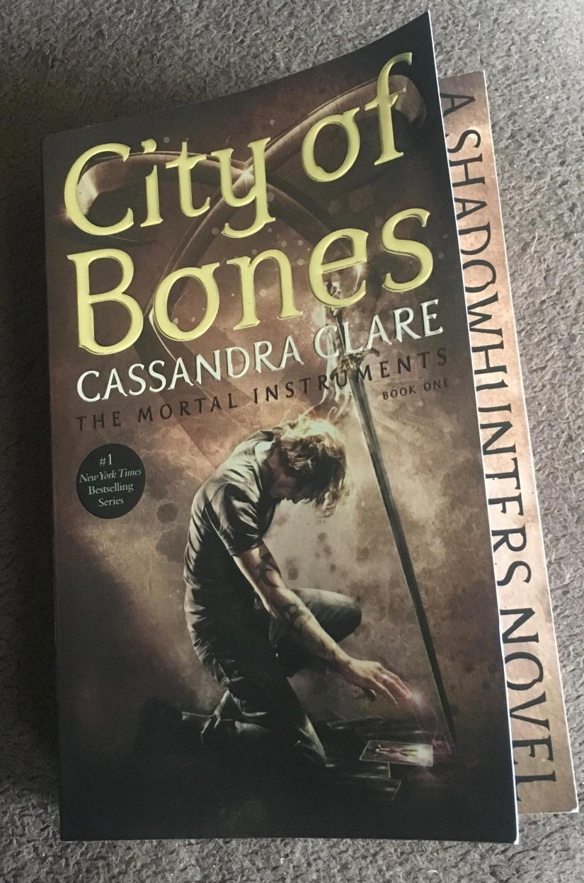 2017 Reading Challenge, Book 19, City of Bones