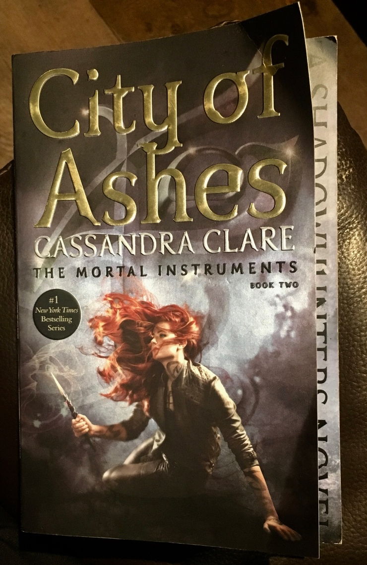 2017 Reading Challenge Book 20 - City of Ashes