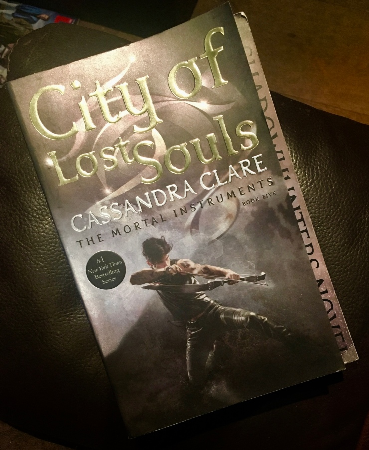 2017 Reading Challenge, Book 24, City of Lost Souls