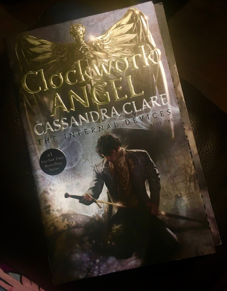 2017 Reading Challenge, Book 27, Clockwork Angel