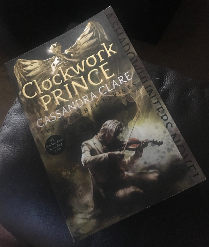 2017 Reading Challenge, Book 28, Clockwork Prince