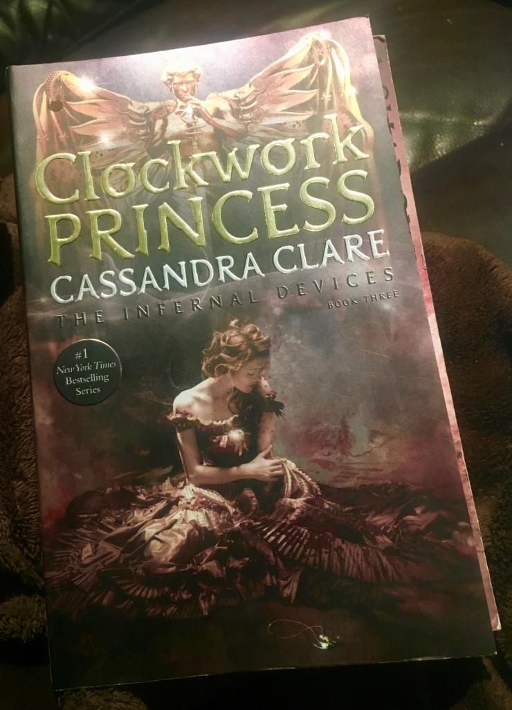 2017 Reading Challenge, Book 29, Clockwork Princess