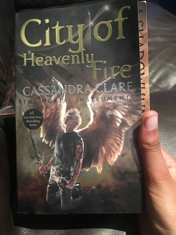 2017 Reading Challenge, Book 26, City of Heavenly Fire