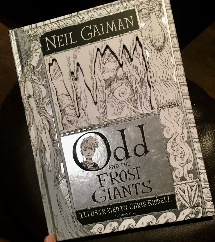 2017 Reading Challenge, Book 42, Odd and the Frost Giants