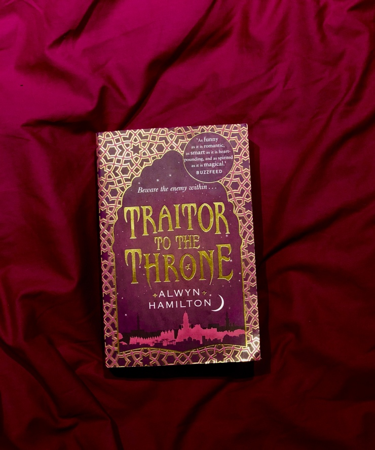 2018 Reading Challenge, Book 5, Traitor to the Throne