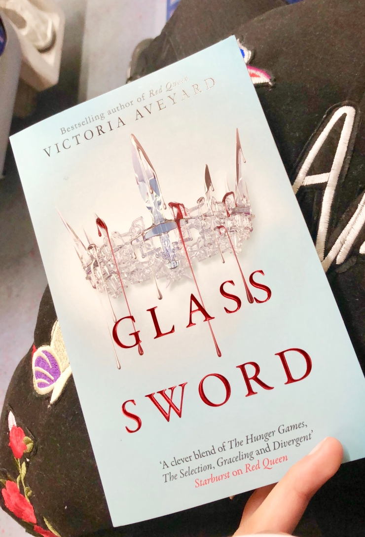 2018 Reading Challenge, Book 22, Glass Sword