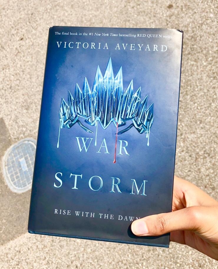 2018 Reading Challenge, Book 24 - War Storm